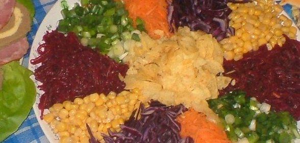 Салат баба яга рецепты с