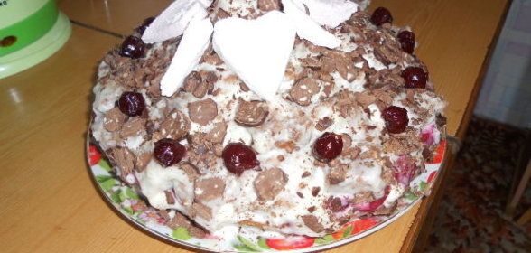Торт шапка мономаха рецепт пошагово в домашних условиях