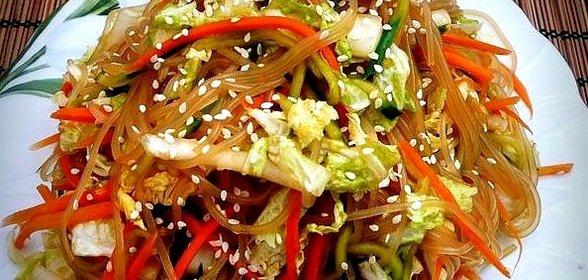 Рецепты с китайского салата