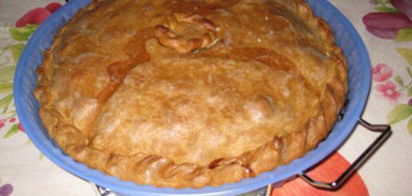 Пирог изюмом рисом рецепт фото