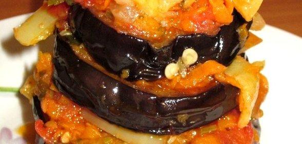 Соте из баклажанов рецепт пошагово в мультиварке