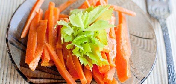 Гарнир из моркови рецепт с фото