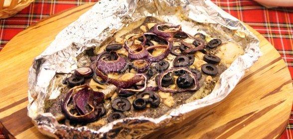 Запеченный судак в духовке пошаговый рецепт