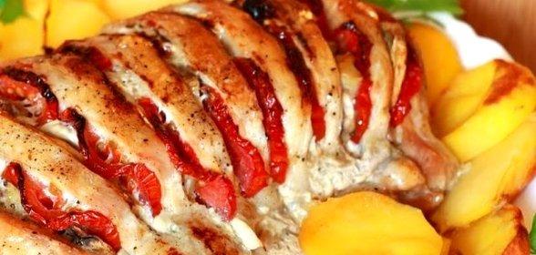 Запечь мясо в духовке гармошка рецепты