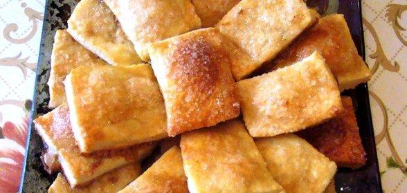 Рецепт слоёного печенья в домашних условиях