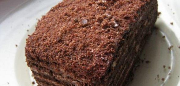 Медово шоколадный с орехами торт рецепт пошагово