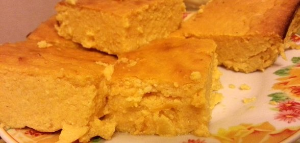 Диетический тыквенный пирог рецепт с фото