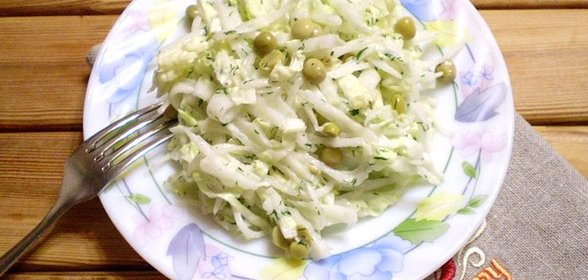 Рецепт салата с белой редьки с