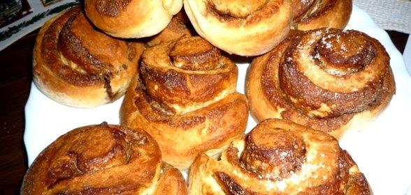 Рецепт сдобных булочек в духовке пошаговый рецепт