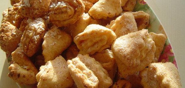 Творожное печенье лапки рецепт фото