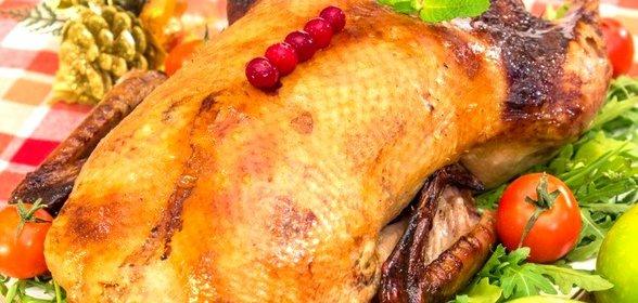 Утка фаршированная пошаговый рецепт фото
