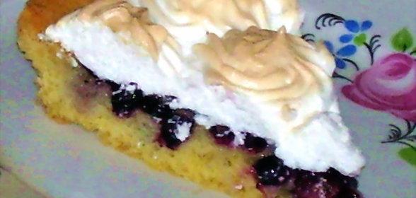 Рецепт пирог с безе в домашних условиях