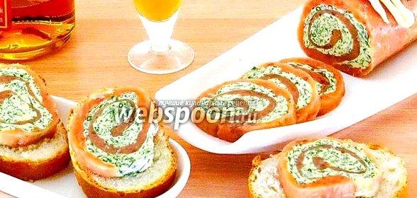 Соленые рулеты рецепты с фото