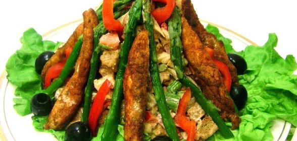 Салат костёр рецепт