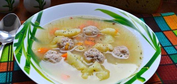 Вкусный суп с фрикадельками рецепт пошагово с