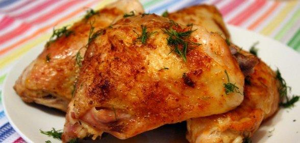 Что приготовить на ужин быстро из куриных бедрышек