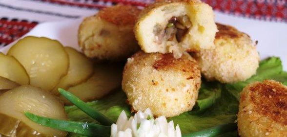 Рецепт картошка с шампиньонами пошагово с
