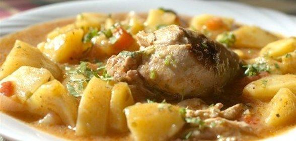 Соус картофельный с курицей рецепт пошагово