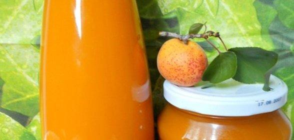 Сок из абрикосов рецепт
