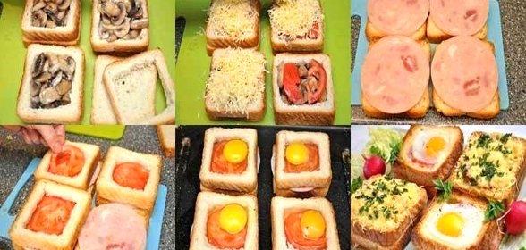 Рецепт завтрака на скорую руку с пошагово