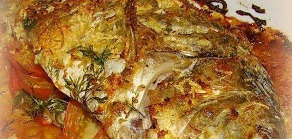 Запеченный карп в духовке пошаговый рецепт с