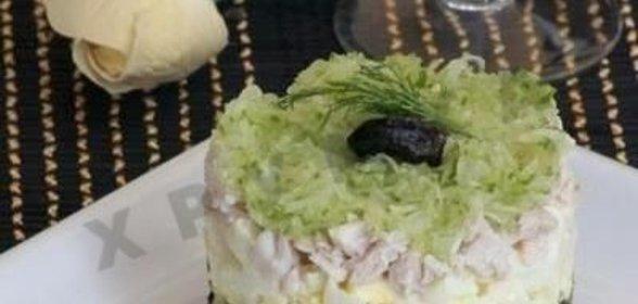Салат меркурий рецепт с фото пошагово