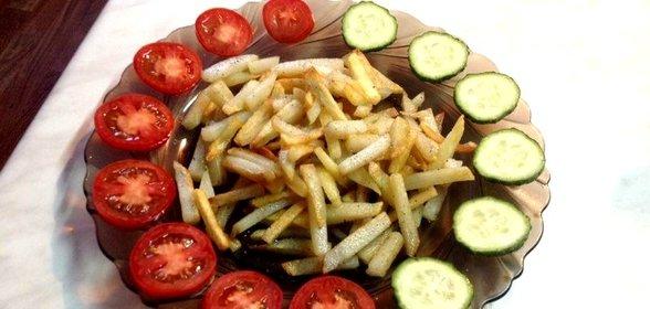 Жареная картошка хрустящая рецепт с фото