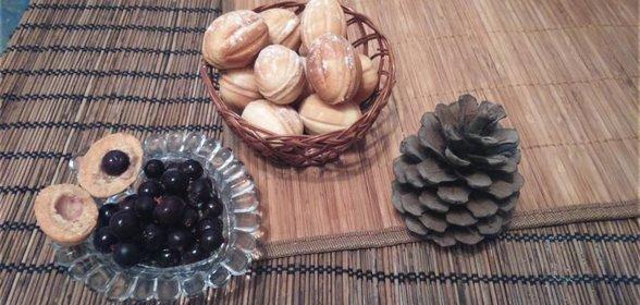 Рецепт орешков в орешнице с пошагово в