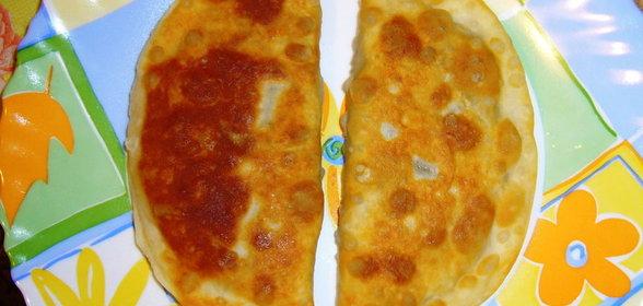 Чебуреки с грибами рецепт с фото пошаговый