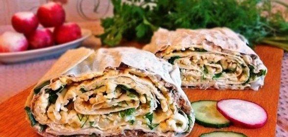 Рецепты из лаваша с фото пошаговые