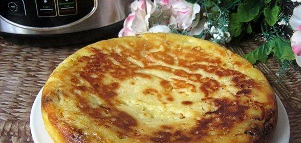 Пирог в мультиварке с капустой рецепты с фото на скорую руку