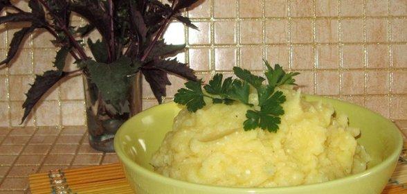 Картофельные пюре в домашних условиях
