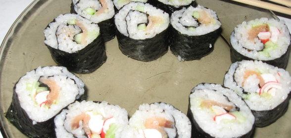 Вкусные рецепты суши и роллов пошагово с