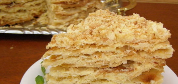 Торт наполеон рецепт пошагово с