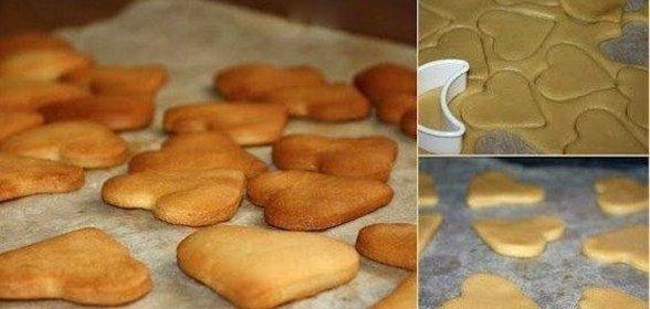Самый простой печенья в домашних