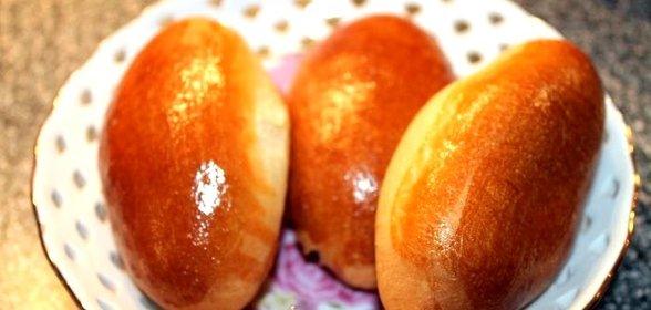 Пирожки с картошкой в духовке пошаговый рецепт с фото на кефире