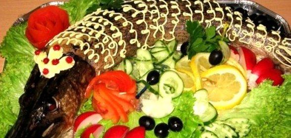 Фаршированная овощами щука пошаговый рецепт с