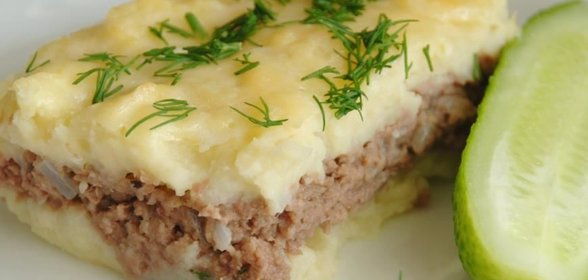 Запеканка из картофеля с мясомы