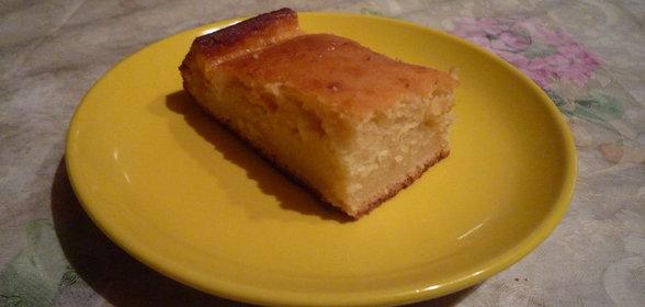 Самый простой рецепт кекса на кефире