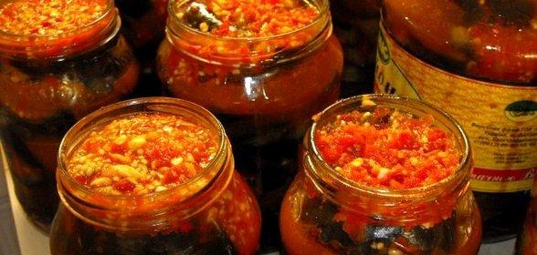 Баклажаны по грузински рецепты с фото пошагово