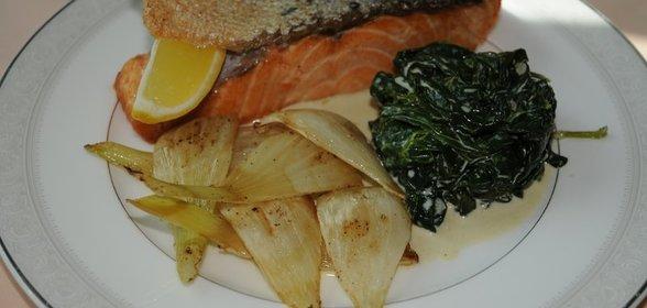 блюда из филе семги рецепты с фото