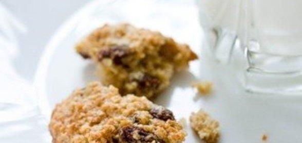 Овсяное печенье с изюмом пошаговый рецепт с фото