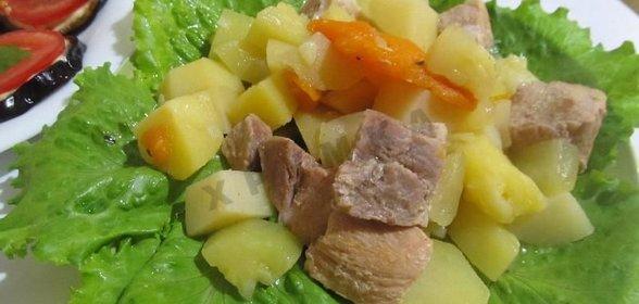 Кабачок картошкой рецепты фото