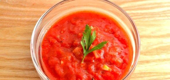 рецепт приготовления домашнего томатного соуса