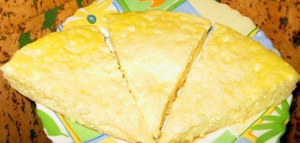 Омлет с сыром рецепт на сковороде с пошагово в