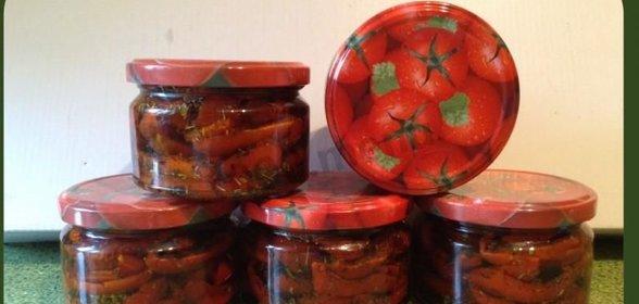 Пошаговый рецепт вяленых помидоров