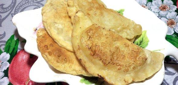 Тесто для чебуреков домашних пошаговый рецепт с