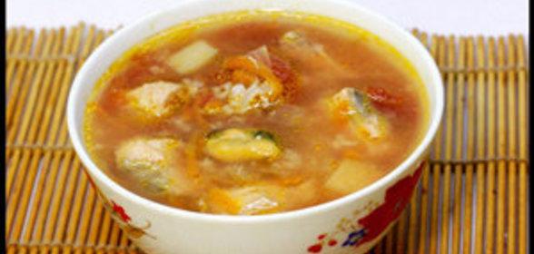 Фото томатный суп с морепродуктами рецепт с пошагово