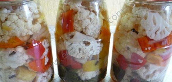 вкусная цветная капуста рецепты на зиму