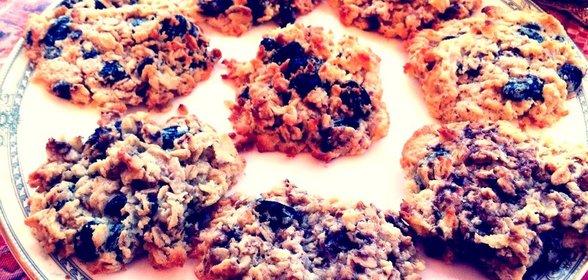 Шоколадные овсяные печенья рецепт с фото пошагово